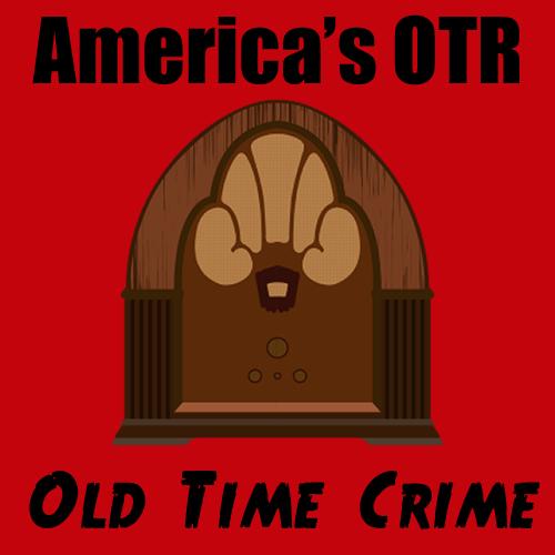 America's OTR - Old Time Crime logo