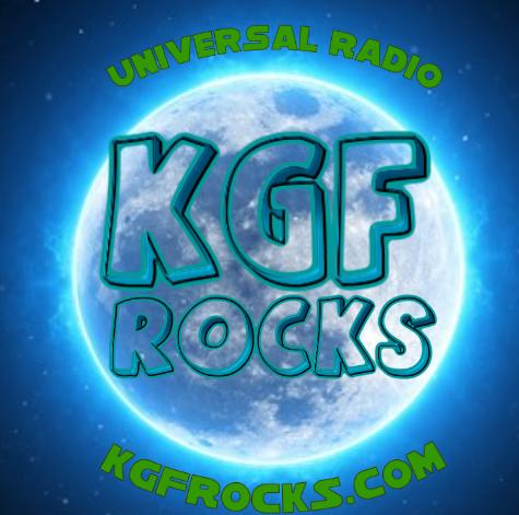 KGF- ROCKS logo